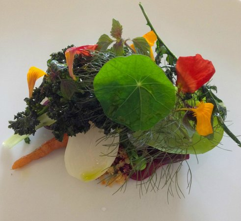 The Raby Hunt Restaurant: vallum on a plate