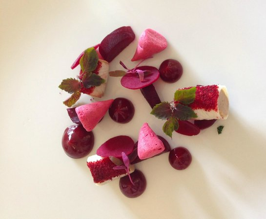 The Raby Hunt Restaurant: beets, duck and eel