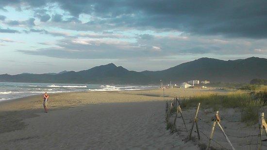 Camping Le Soleil : l'accès plage