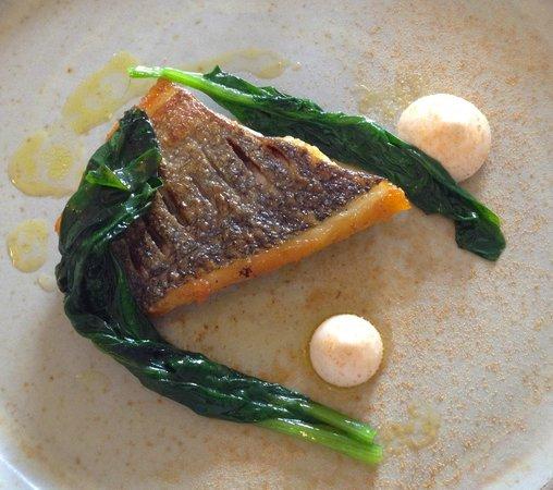 The Raby Hunt Restaurant: bream
