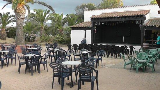 Camping Le Soleil : le beach bar
