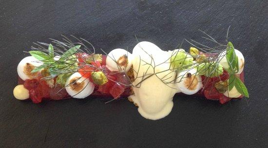 The Raby Hunt Restaurant: strawberry