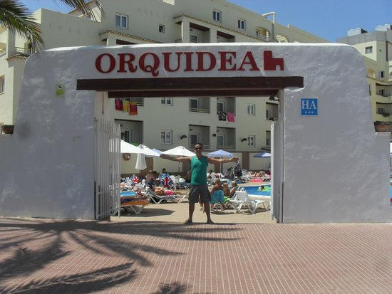 Apartahotel Orquidea: de Frente para o Mar