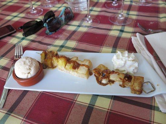 The Clos Restaurant : petit dessert