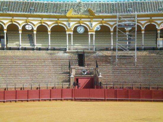 Plaza de Toros de la Maestranza: Particolare del palco