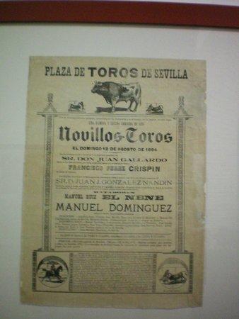 Plaza de Toros de la Maestranza: Antico manifesto