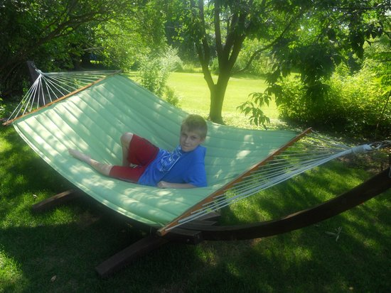 Auberge Nuits St-Georges: Hammock fro relaxing