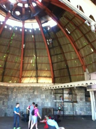 City Museum: dome on the roof - despite fear of heights, I made it to the top