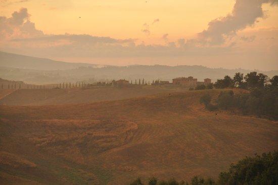 Il Pozzo di Radi: panorama from terrace