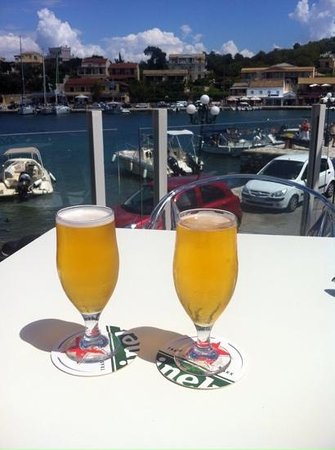 Melina Bay Hotel: view from the terrace
