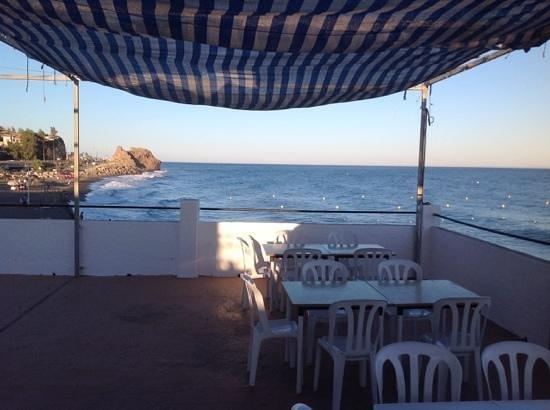 Restaurante Antonio Moreno: Upper Terrace