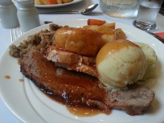 An Grianan Hotel: Not the best Sunday roast