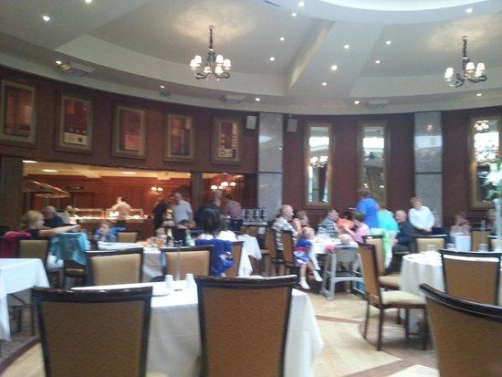 An Grianan Hotel: Restaurant