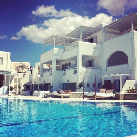 Andronikos Hotel : hotel area