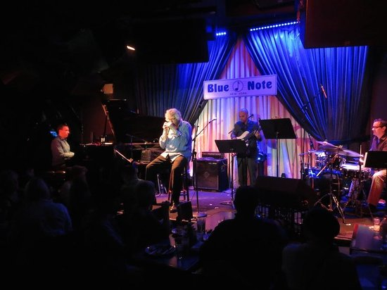 Blue Note Jazz Club: Blue Note in NY in July 2014