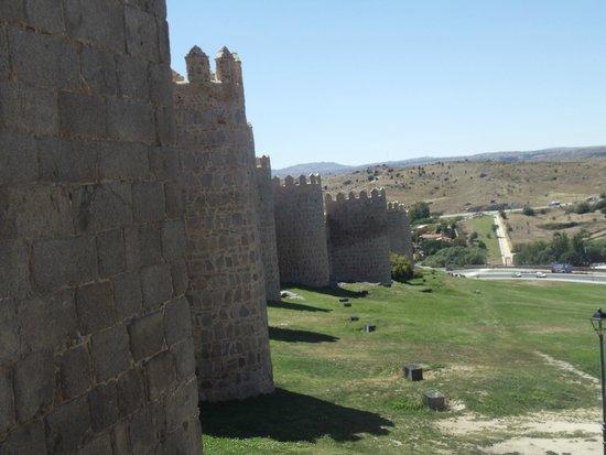 The Walls of Avila : Vista do alto da muralha