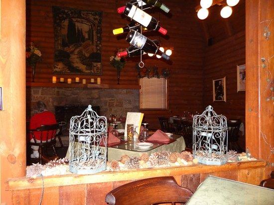 Casa Rustica: Inside dining.