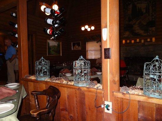 Casa Rustica: Inside dining areas.