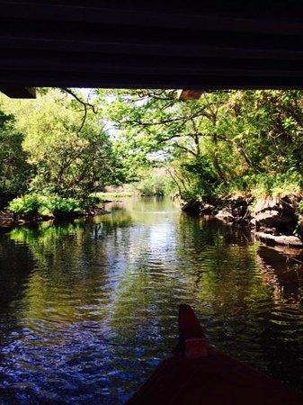 Larkinley Lodge: Boat ride on Gap of Dunlow Trip