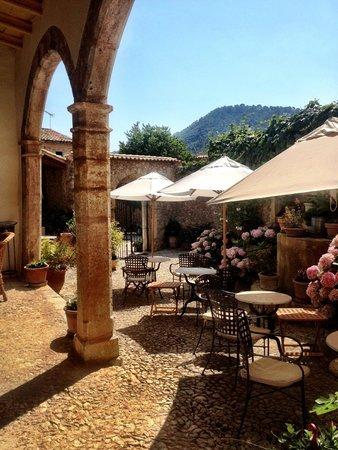 Finca Hotel Son Palou : breakfast area