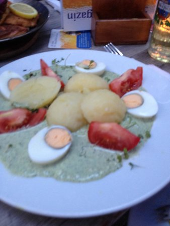 Alt-Oberurseler Brauhaus GmbH: Green sauce was actually good