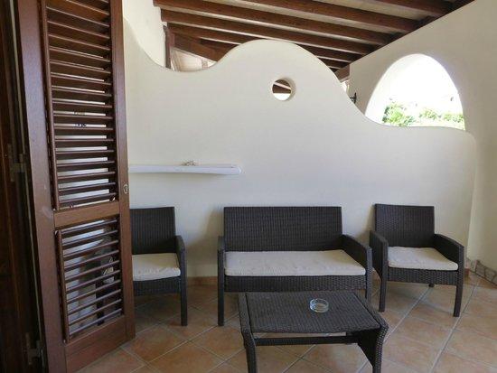 Borgo Eolie Hotel: Verandah