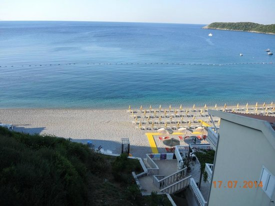 Hotel Poseidon : Вид с балкона