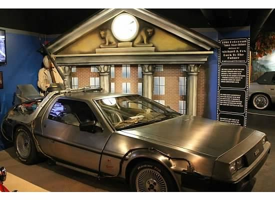 Hollywood Star Cars Museum : DeLorean DMC 12