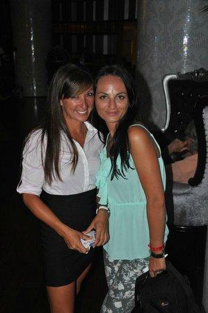 Sandos Cancun Luxury Resort : Becca..:-)