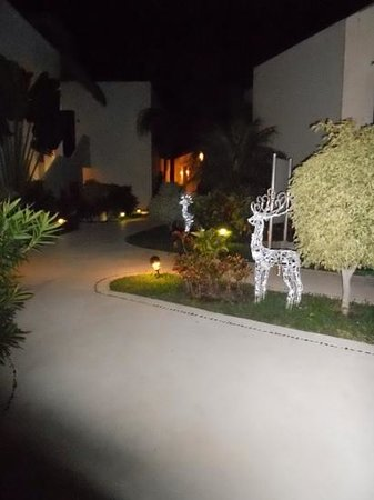Azul Beach Hotel : christmas outside