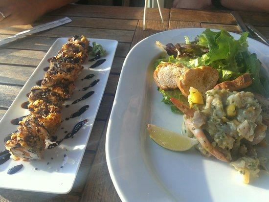 Le Surfing: sushi et ceviche dorade