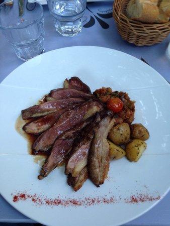 Restaurant La Cour d'Honneur : Magret de canard