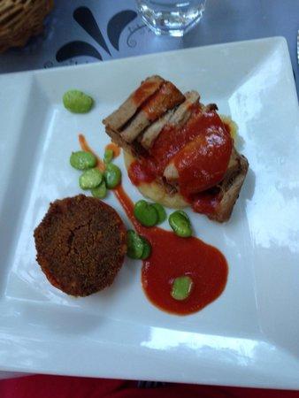 Restaurant La Cour d'Honneur : Filet de cochon