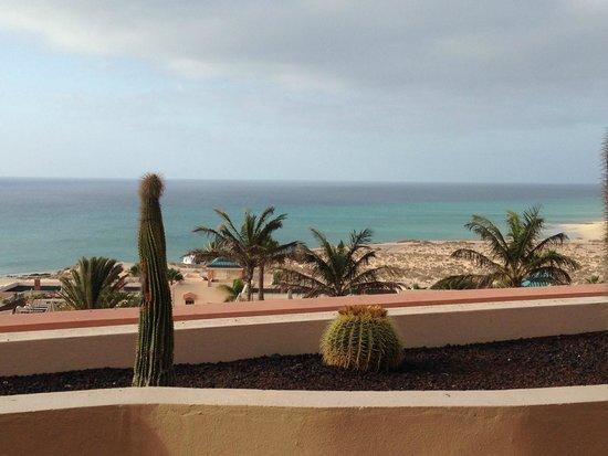 H10 Sentido Playa Esmeralda : Vista desde la parte exterior del comedor