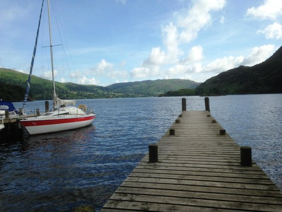 Inn on the Lake: View from hotel jetty