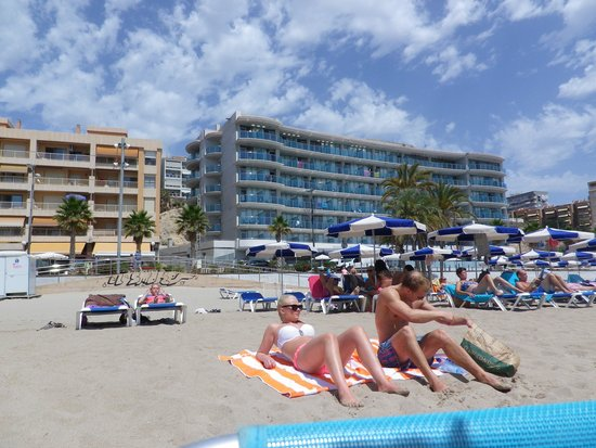 Allon Mediterrania Hotel: Hoteldesde la playa