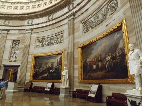 U.S. Capitol: In the Rotunda