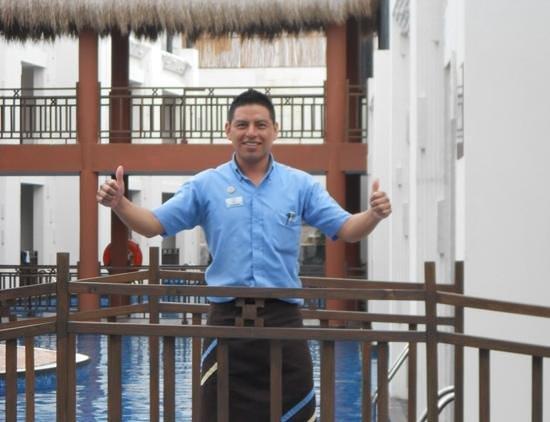 Azul Beach Resort Riviera Maya : the famous Leo