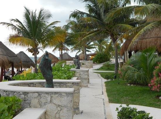 Azul Beach Resort Riviera Maya : our morning walk