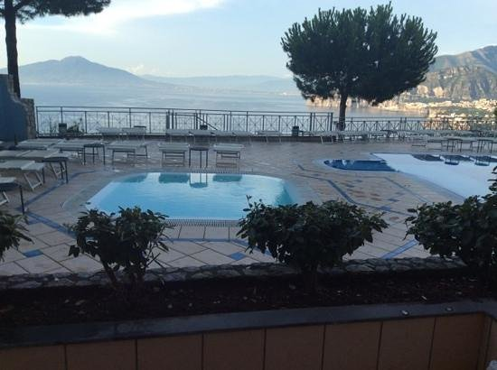 Grand Hotel President: view from our balcony WOW WOW WOW!!!!