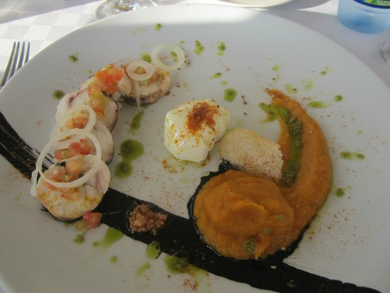 Restaurante Paladar Cafe Laurent Habana : More delicous food artfully prepared!