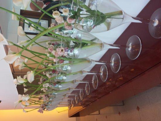 L'Assiette Champenoise : vue du hall d'entrée