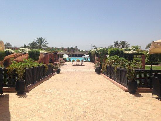 SENTIDO Kenzi Menara Palace : Pool area