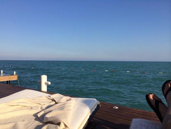 Gloria Golf Resort: Uitzicht vanaf de pier