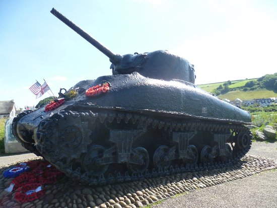 Slapton Sands: Sherman Tank