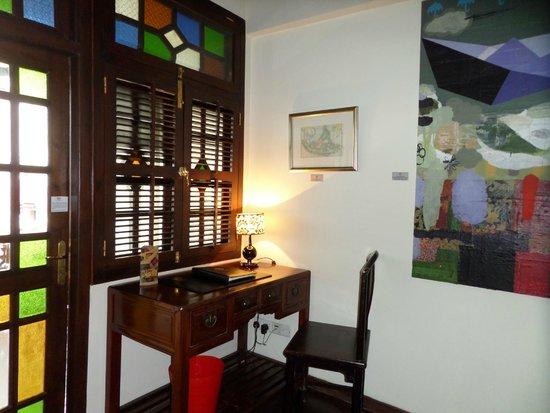 Hotel Penaga: chambre bas