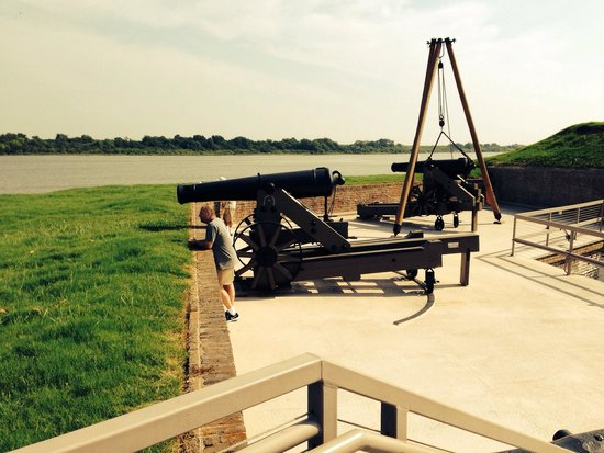 Old Fort Jackson: Fort Jackson