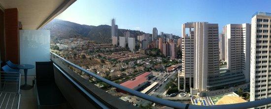Hotel Levante Club & Spa: vistas desde el balcón planta 15