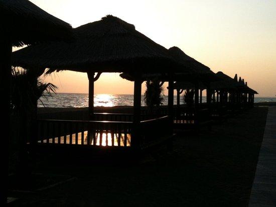 Gloria Serenity Resort: Fin de journée sur la plage