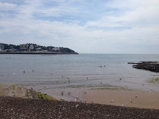 Waters Edge Hotel: on the walk from the hotel towards torquay